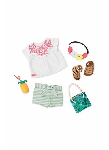 Our Generation Our Generation Tatil Oyuncak Bebek Kıyafet Seti Renkli